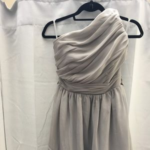 Light in the Box Dresses - A-Line One Shoulder Short Chiffon Dress Sz 4